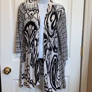 Preowned Chico's sweater cover up
